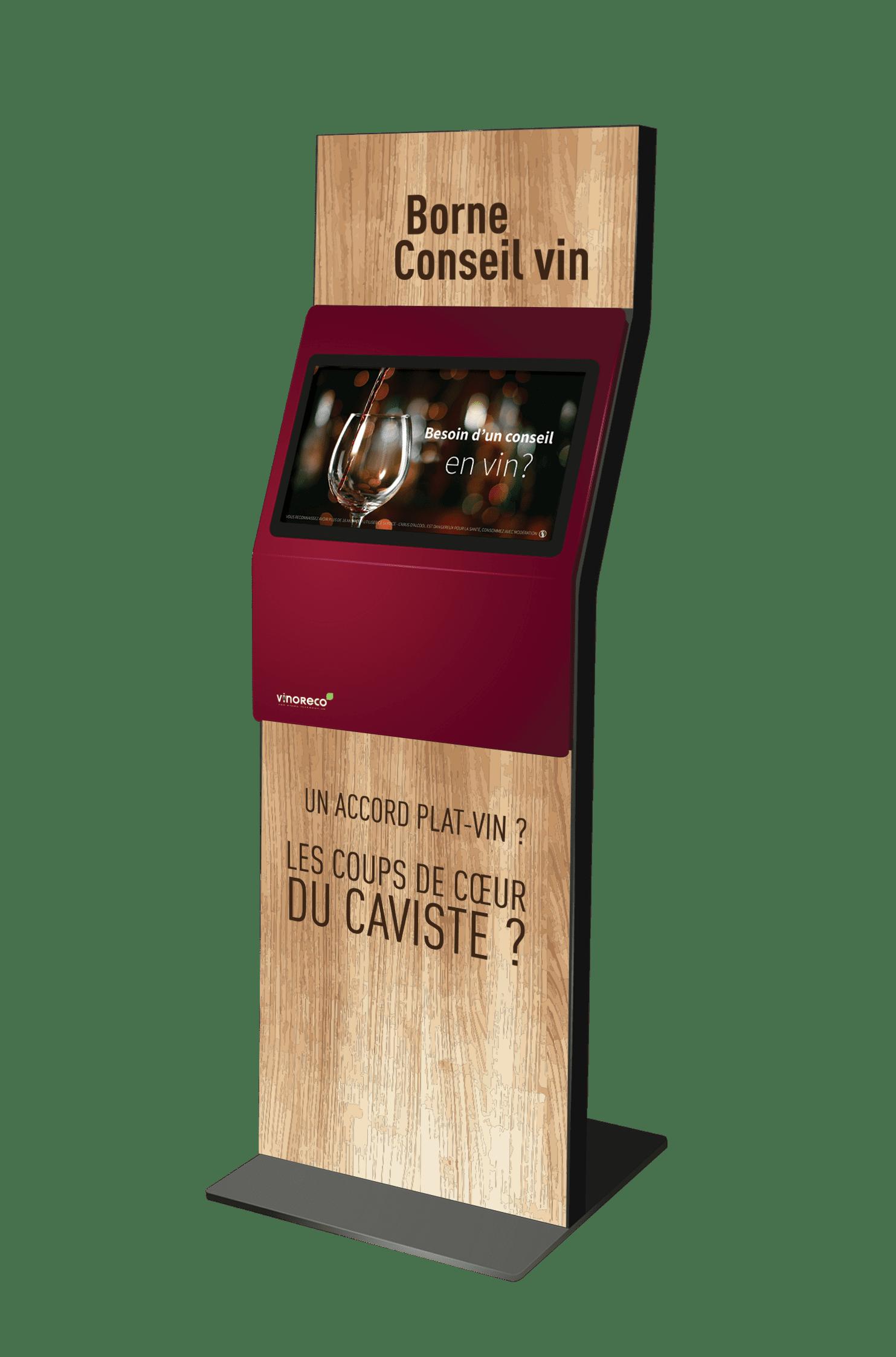 Borne de conseil en vin